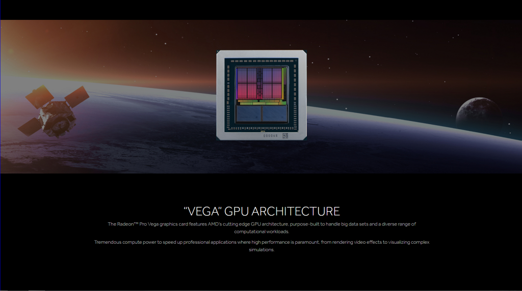 AMD unveils Radeon Pro Vega: 8-16GB HBM2, performance up to 22 TFLOPs