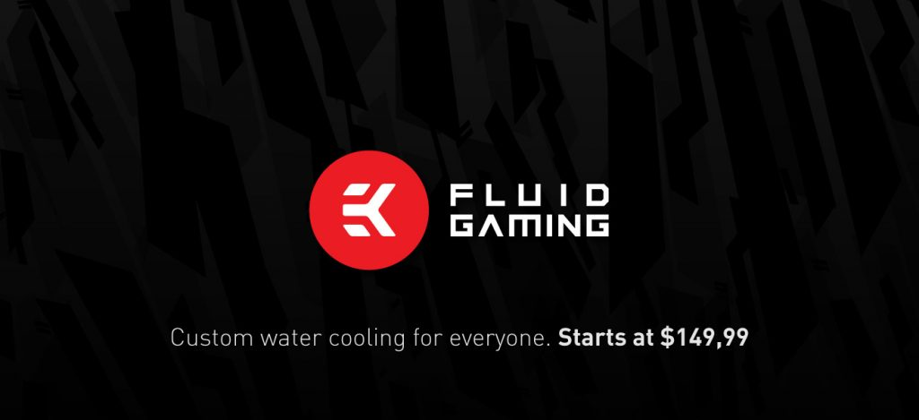 EK Announces Fluid Gaming: Sets a New Standard for Water Cooling!