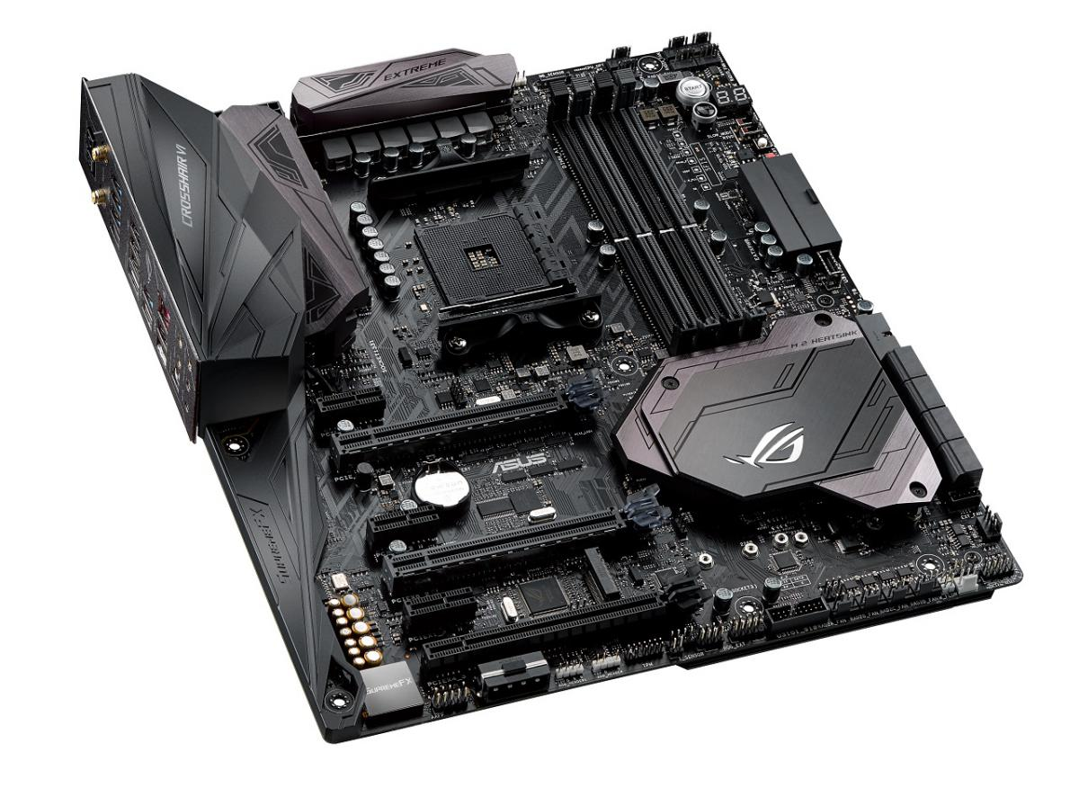 ASUS Unveiled The ROG Crosshair VI Extreme AM4 Motherboard