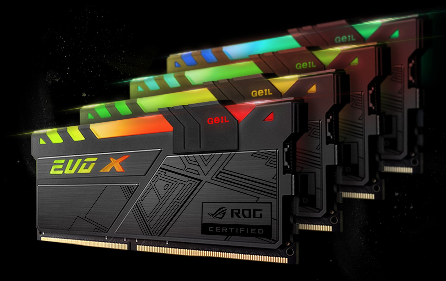 2019 Ram Hd >> GeIL Announces EVO-X RGB Memory with ASUS ROG Certification
