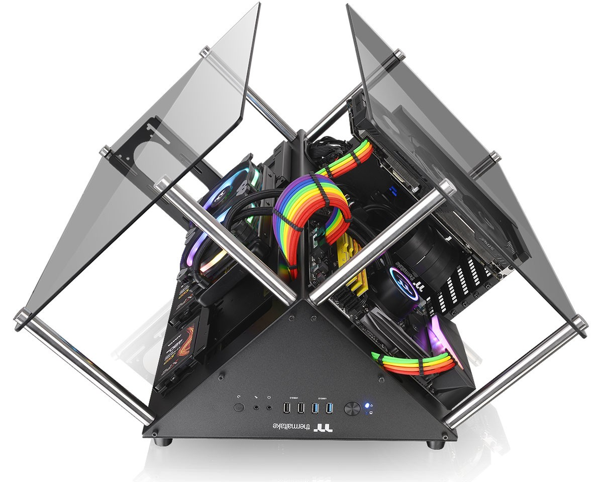 Thermaltake Announces Core P90 Tempered Glass Edition Chassis