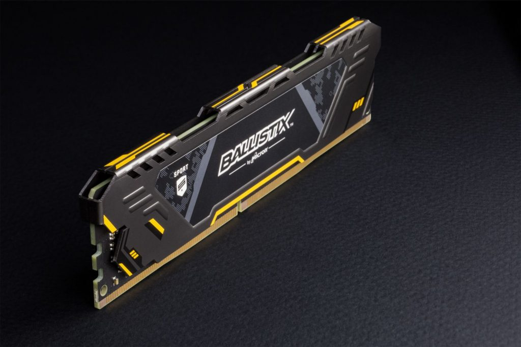 Crucial Ballistix Sport AT Gaming Memory Now Available