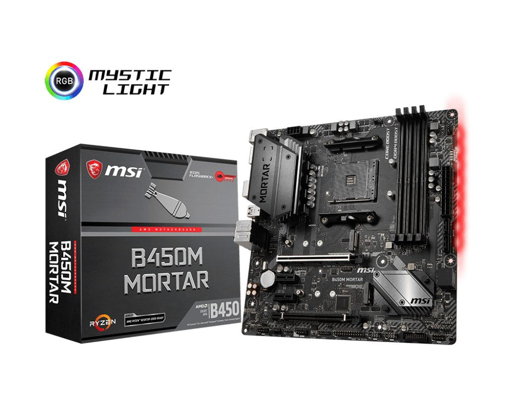 MSI Announces New Range of AMD B450 Chipset Motherboards