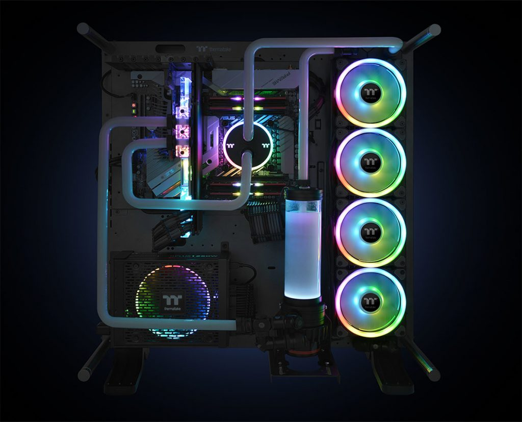 Thermaltake Releases Riing Trio 12 RGB: A Fan that Works with Amazon Alexa