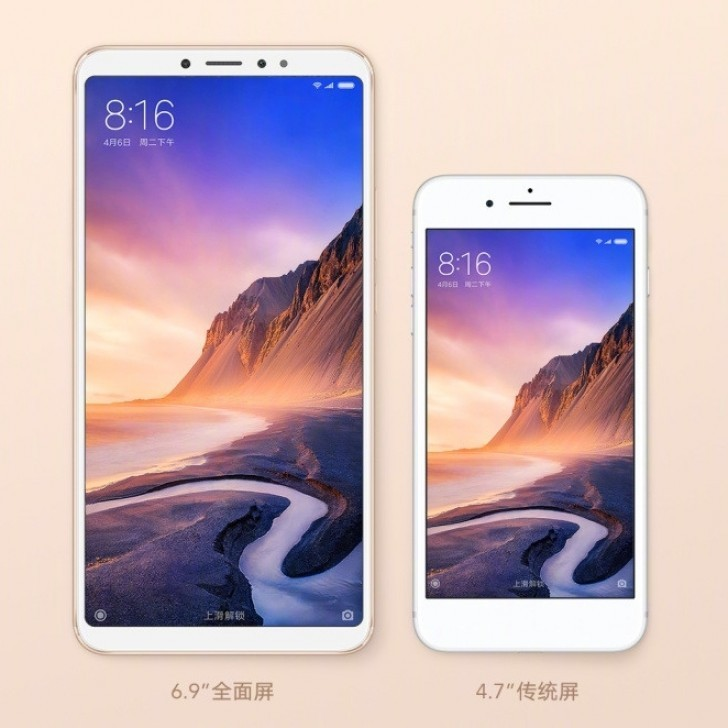 Xiaomi announced Mi Max 3 with bigger display and battery