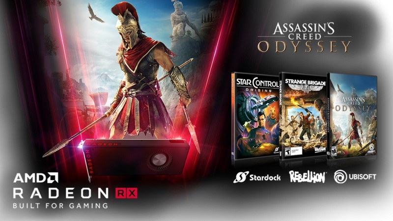 """AMD Announces """"Raise the Game"""" Bundle: with 3 Unreleased Games"""