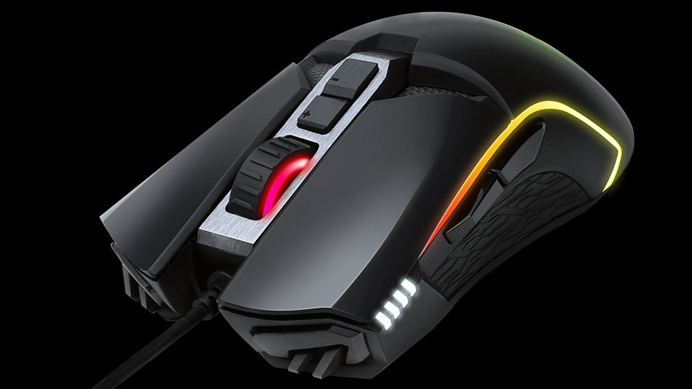 GIGABYTE Releases AORUS M5 Gaming Mouse with 16000 DPI, RGB, Omron Switches