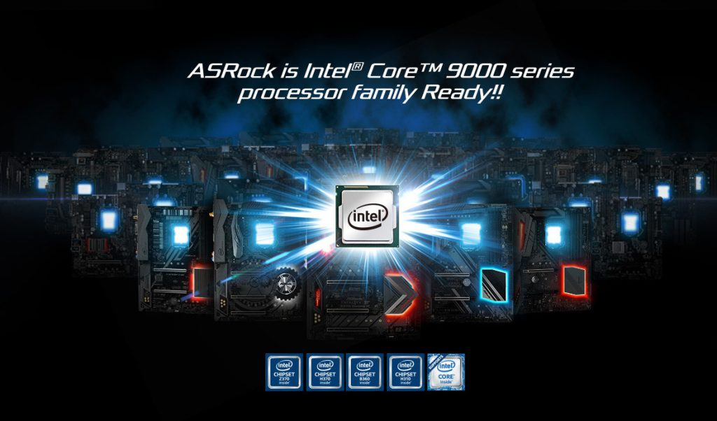 ASRock Adds 9th Gen Core Compatibility Across Intel 300-series Chipset Lineup