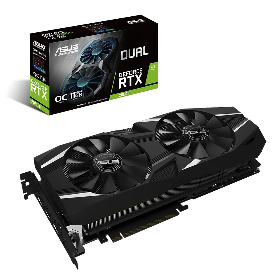 ASUS Announces ROG Strix, Turbo, and Dual Versions of GeForce RTX 2080 Ti and 2080 Gaming Graphics Cards