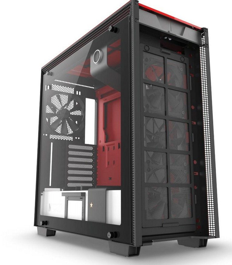 NZXT Announces H700 Nuka-Cola Limited Edition Fallout Themed Chassis