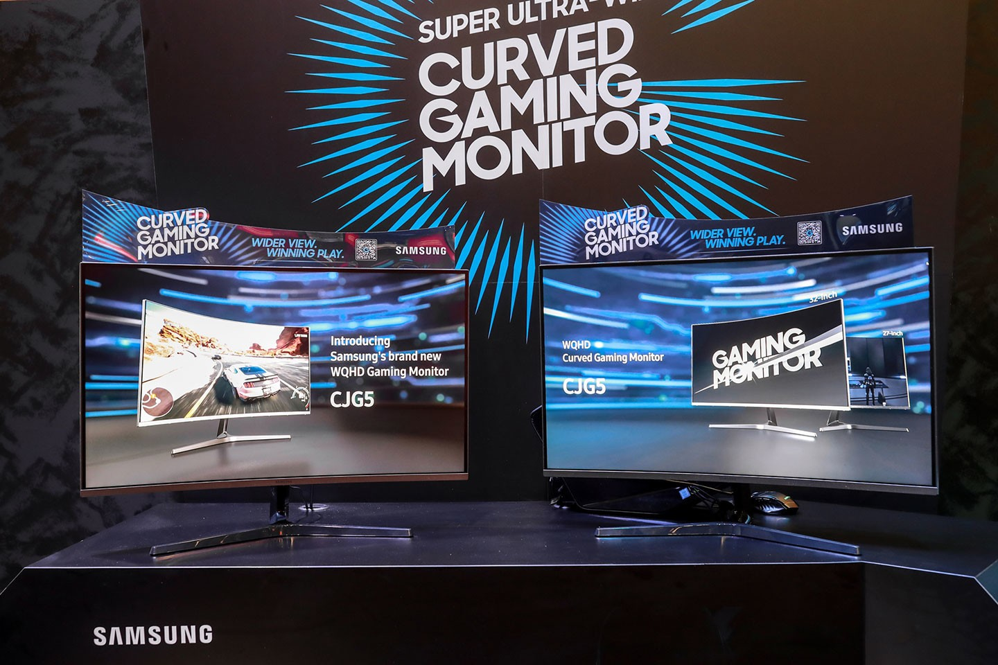 54d90b9d6a8 The newly-developed CJG5 32-inch(C32JG5) and 27-inch(C27JG5) monitors  feature key gaming technologies such as WQHD high resolution, curved display,  ...