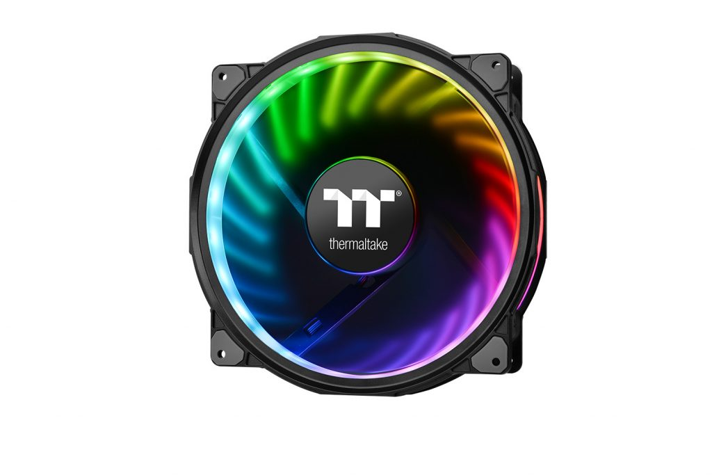 Thermaltake Introduces Alexa Support for Its Riing Plus and Pure Plus RGB Radiator Fan Series