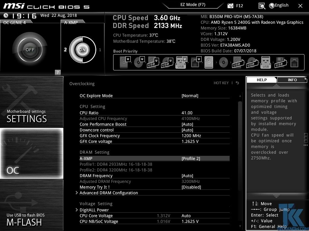 AMD Ryzen 5 2400G with MSI B350 Gaming Plus and B350 PRO-VDH Review