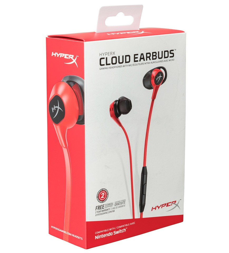 HyperX Announces Cloud Gaming Earbuds with Mic