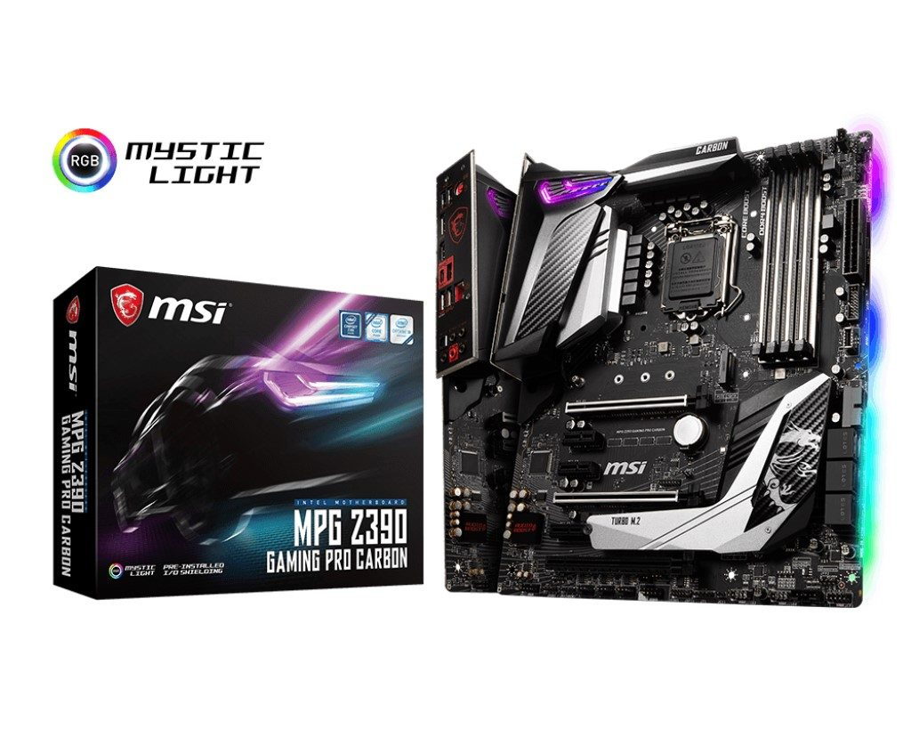 Intel Core i7-9700K with MSI MPG Z390 Gaming Pro Carbon Motherboard Review