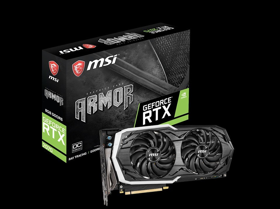 MSI Announces Full Line Up of GeForce RTX 2070 Series