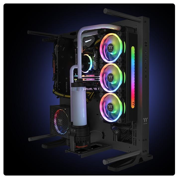 Thermaltake Launches Pacific C and CL Plus RGB Copper Radiators