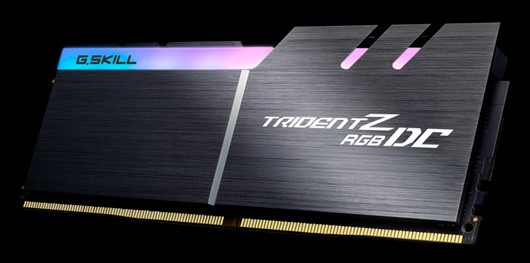 G SKILL Announces Double Capacity DDR4 with Trident Z RGB DC