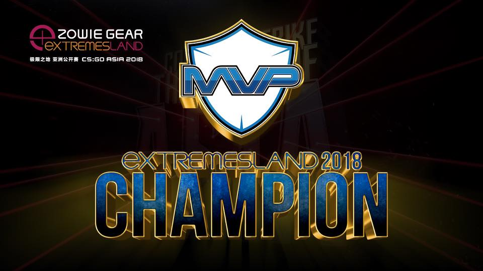 ZOWIE XL2546 Esports Monitors witnessed the born of Champion - MVP.PK from ZOWIE eXTREMESLAND CS:GO Asia Open 2018 Grand Finals