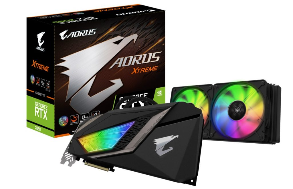 GIGABYTE Unveils AORUS WATERFORCE GeForce RTX 20 series XTREME graphics card