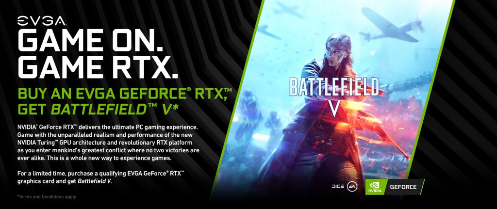 GeForce RTX Gets a Battlefield V bundle, Wolfenstein II: The New Colossus gets NAS, and a new GRD for Darksiders III