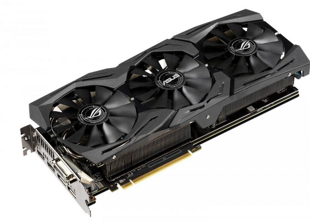 ASUS Republic of Gamers Announces ROG Strix Radeon RX 590 Graphics Card