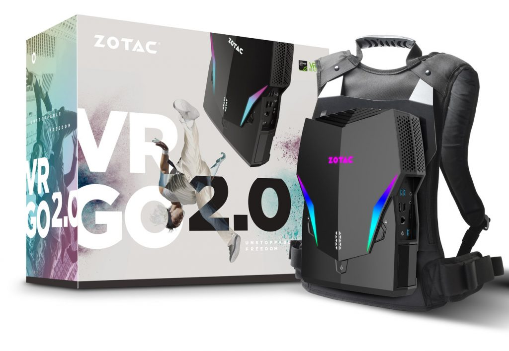 ZOTAC Announces VR GO 2.0 Backpack PC for the Untethered VR Experience