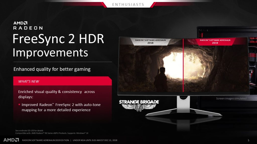 Unleash the Full Power of AMD Radeon GPUs with  New AMD Radeon Software Adrenalin 2019 Edition