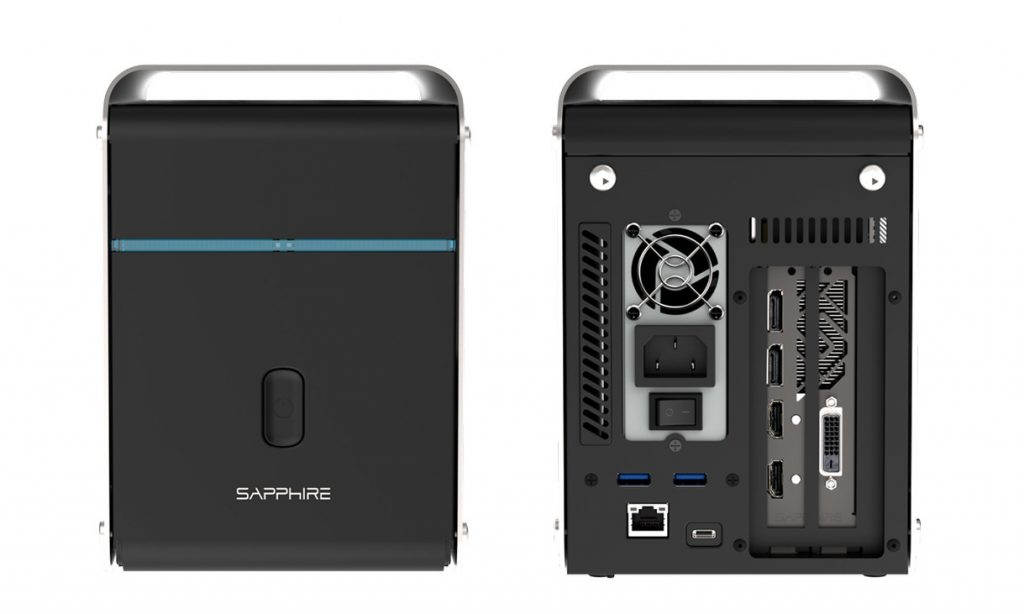 SAPPHIRE Technology Introduces GearBox Thunderbolt 3 eGFX Enclosure to Market