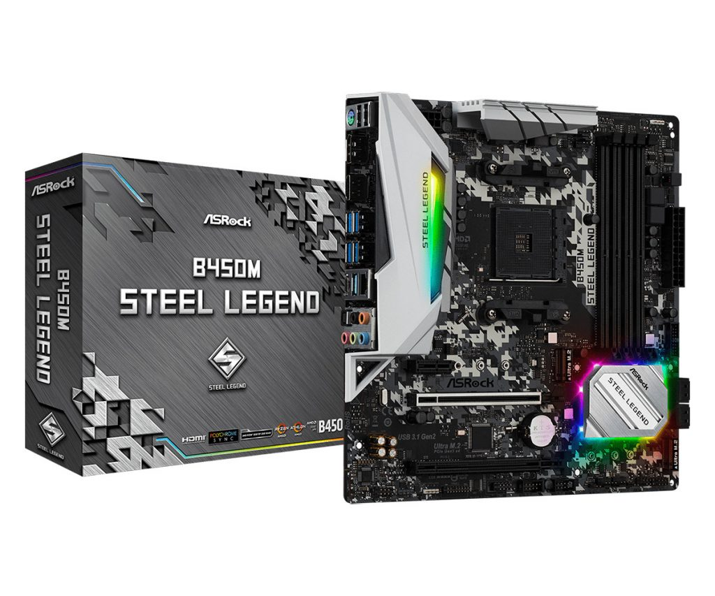 ASRock Announces Steel Legend Family of Motherboards