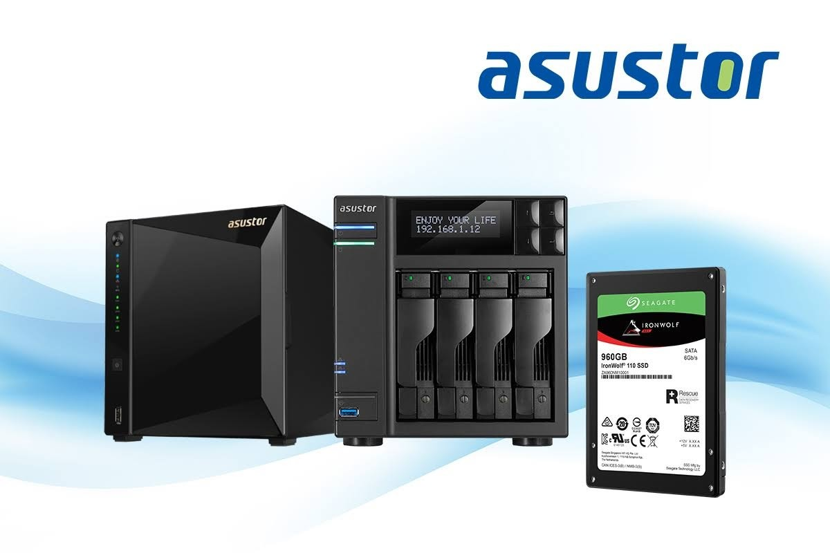 ASUSTOR adds support for Seagate IronWolf® 110 SSDs!