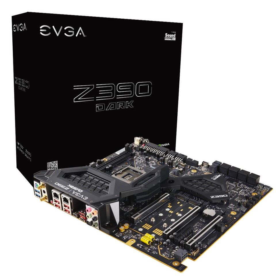 EVGA Launches The Z390 DARK Motherboard, Built to Deliver The Ultimate in Performance