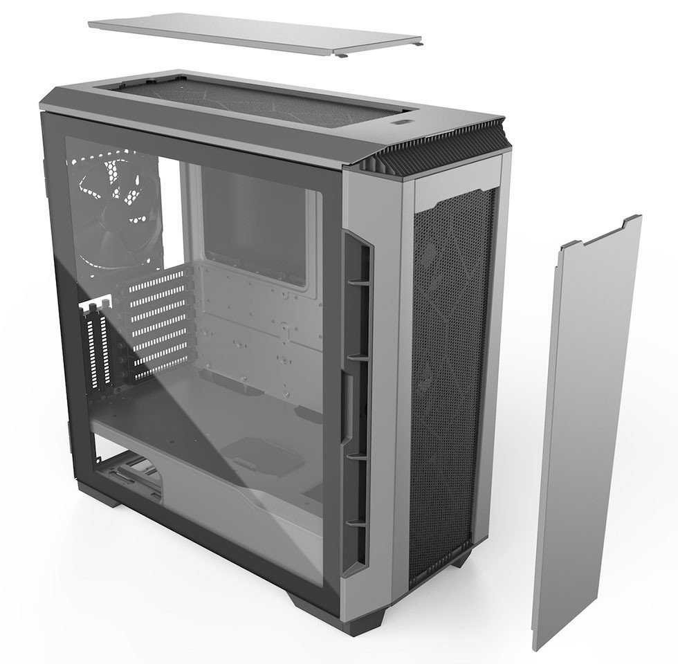 Phanteks Announces the Eclipse P600S Hybrid Silent and High-Performance Case