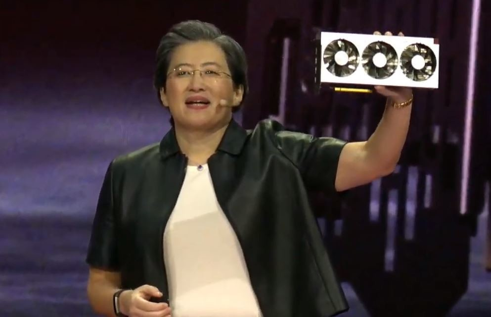 AMD Announces the Radeon VII Graphics Card Same Performance as GeForce RTX 2080