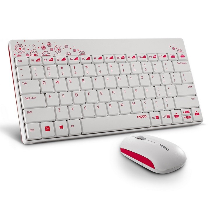 Rapoo announces '8000 Wireless Mouse and Keyboard' with 12 Months Battery life, for Rs. 1079/-