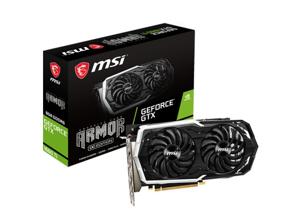MSI Unveils Four New GeForce GTX 1660 Ti Graphics Card Models