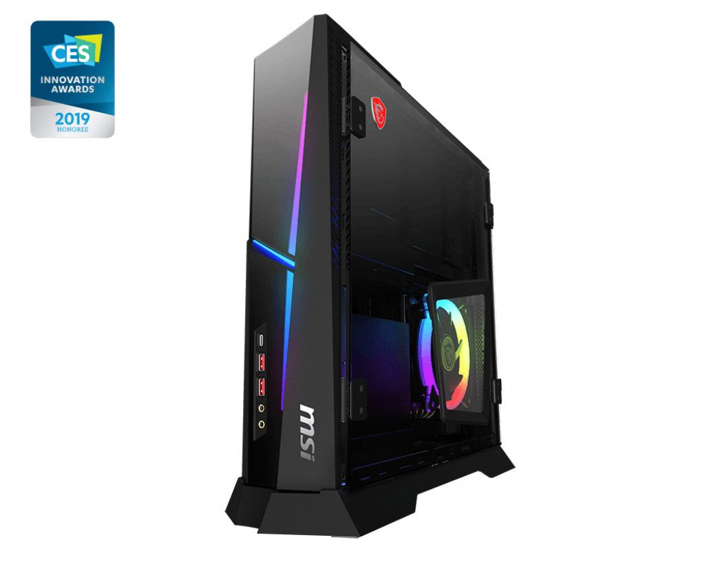 MSI Unveils the Trident X Series SFF Gaming Desktops