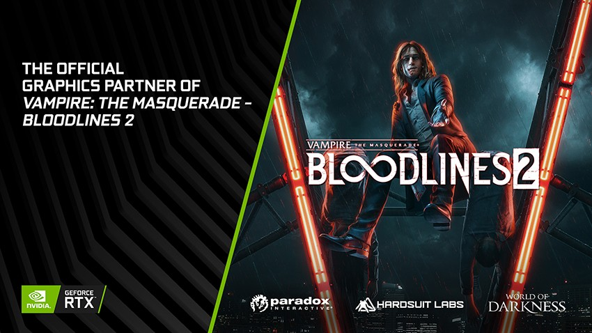 Vampire: The Masquerade - Bloodlines 2 Announced at GDC, features real-time ray tracing and NVIDIA DLSS