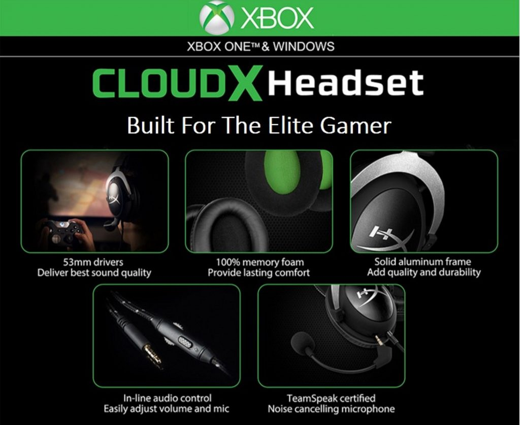 HyperX Launches Official Xbox licensed Gaming Headset in India