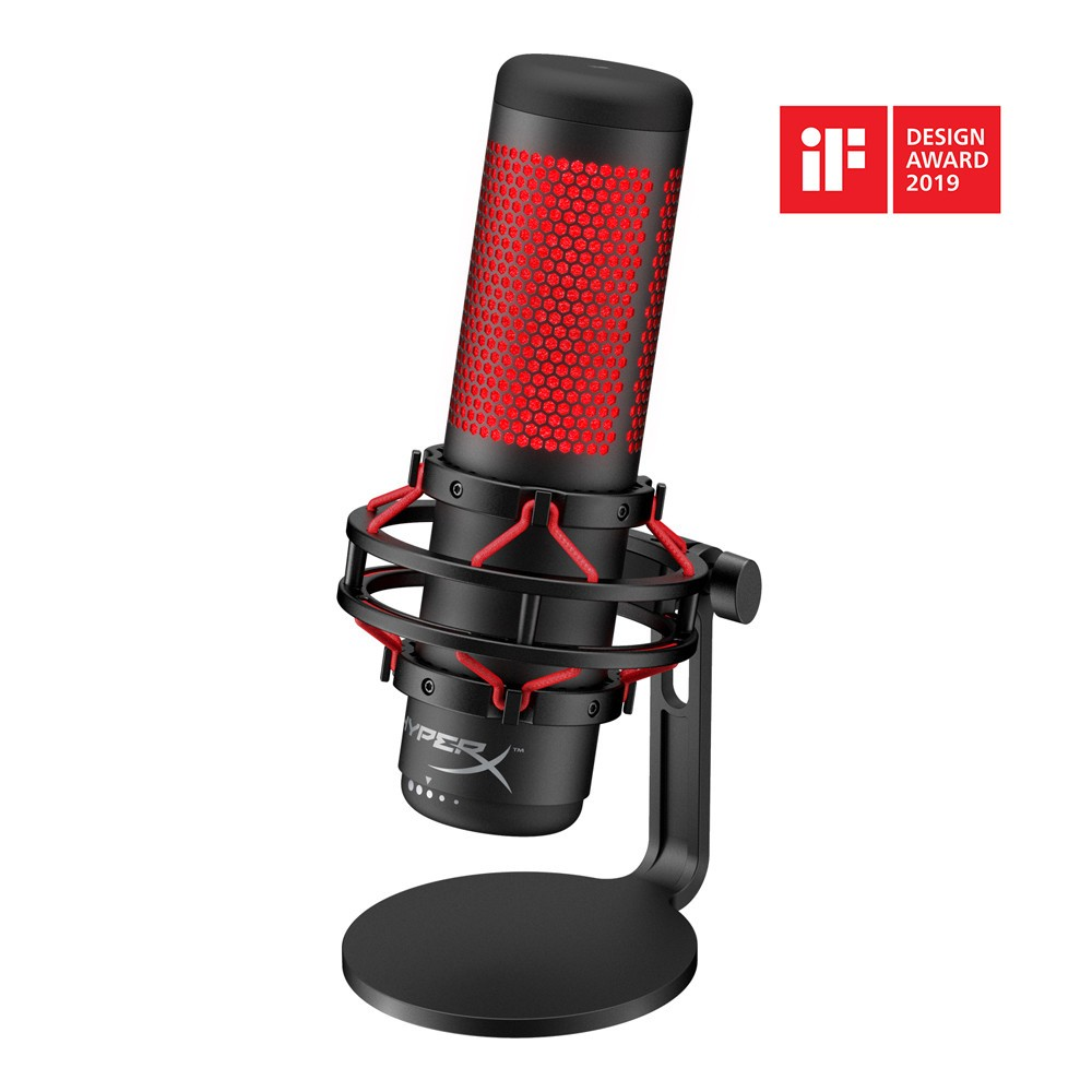 HyperX Announces HyperX QuadCast Microphone for Streamers and Casters