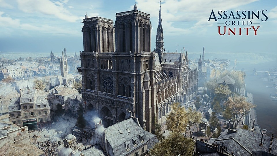 "Ubisoft Makes ""Assassin's Creed Unity"" Free in Honor of Notre-Dame de Paris"