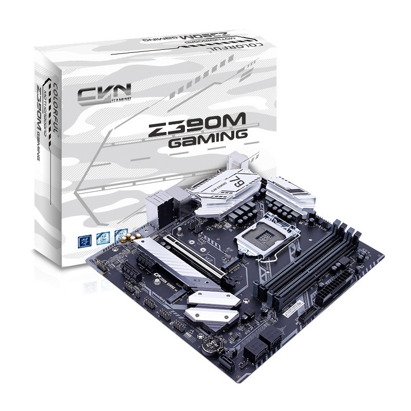 Colorful Announces CVN-Z390M Gaming V20 Micro-ATX Motherboard