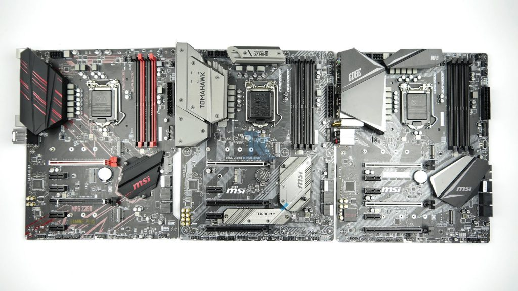 MSI MPG Z390 Gaming Edge AC, MPG Z390 Gaming Plus and MAG Z390 Tomahawk VRM Analysis Review