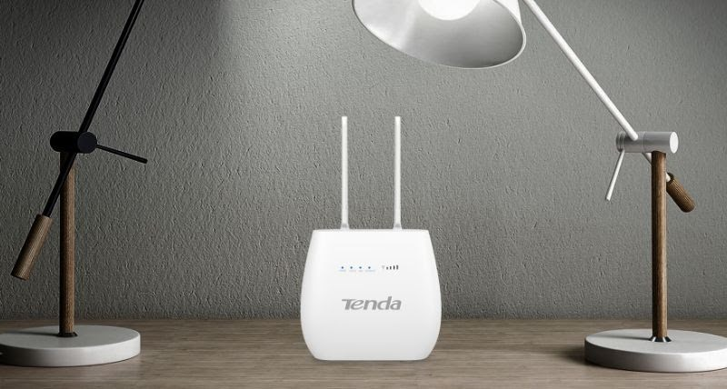 Tenda 4G680, 300Mbps Wireless 4G LTE and VoLTE Router launched in India