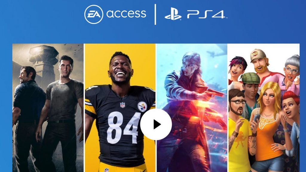 EA Expands Its Subscription Service to PlayStation 4