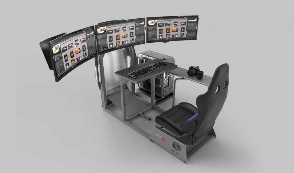 Cooler Master Announces Collaboration with GTR Simulator for GTA-F Cooler Master Edition ultimate gaming rig