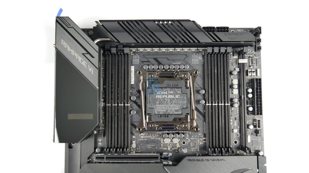 ASUS ROG Rampage VI Extreme Omega Review