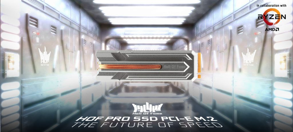 GALAX Launches HOF PRO M.2 SSD which Supports PCIe 4.0